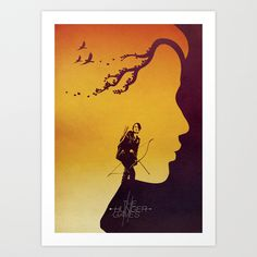 The Hunger Games Art Print by Decoy | Society6