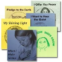 Montessori early readers promoting peace on earth/peace within