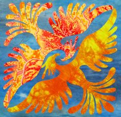Sylvan Quilts: Phoenix Quilt design by Elizabeth Sylvan