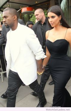 Kim Kardashian beautiful long black dress