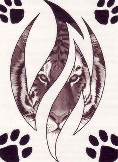 pictures of tiger tattoos | tattoo tiger by !burstinatrix on deviantART