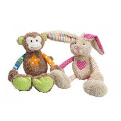 The Lottie Larrikin Bunny Rattle is a must have. The perfect size for taking everywhere, this rattle will be loved for a long time to come. Easter Bunny, Rabbit, Lily, Teddy Bear, Toys, Animals, Amp, Bunny, Activity Toys