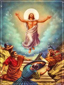 La Résurrection Du Christ, Just Magic, Jesus Christ Images, Mary And Jesus, Fairy, Easter, Angel, Painting, Pictures Of Jesus