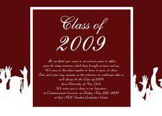 Download Sample Graduation Invitation Announcement Cream Beige