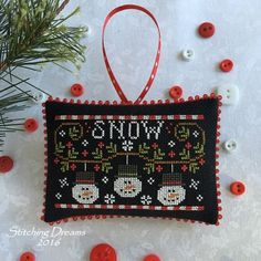 Happy First Day of Winter, my stitching friends! As we inch ever closer to Christmas morning (is it really happening in just four days?!),...