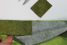How to Sew a Quilt Binding/The easiest quilting binding technique from Nancy Zieman's blog