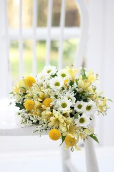 Make your home sunny for spring with our yellow meadow bouquet The Charlie. A cheerful bouquet of sunshine-yellow alstroemerias, santini chrysanthemums and craspedia. Shop our letterbox bouquet The Charlie for £20 with free next day delivery.