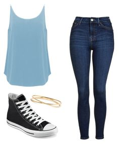 """Untitled #11"" by t-t-g on Polyvore featuring BA&SH, Converse, Nadri and Topshop"