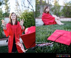 Unique Senior Picture Ideas | And then we got a little more relaxed and got some senior portraits. I ...