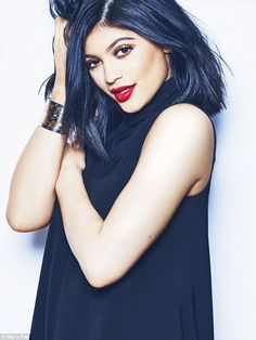 Kylie Jenner was last week unveiled as the ambassador for beauty brand Nip + Fab - and now...