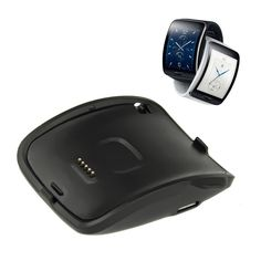 2016 Portable Charging Dock Charger Cradle for Samsung Galaxy Gear S Smart Watch quick charging with usb cable Usb, Smart Watch Price, Samsung Gear S, Smart Ring, Wearable Device, Watch Bands, Galaxies, Consumer Electronics, Samsung Galaxy