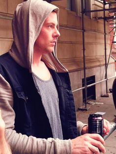 Cory Monteith bts