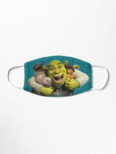 Blue Mask, Shrek, Donkey, Mask Design, Mask For Kids, Top Artists, Snug Fit, Kids Toys, Baby Kids