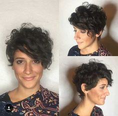 20 Latest Hairstyles for Short Curly Hair - short-hairstyless. Curly Pixie Haircuts, Short Curly Pixie, Short Curls, Cute Hairstyles For Short Hair, Latest Hairstyles, Hairstyles Haircuts, Trendy Hair, Wedding Hairstyles, Beautiful Hairstyles