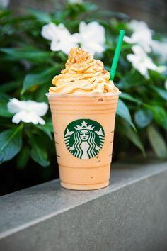 Alert, Alert: Starbucks is Bringing Back Pumpkin Spice Whipped Cream Starbucks Fall Drinks, Starbucks Secret Menu Items, How To Order Starbucks, Starbucks Recipes, Coffee Recipes, Drink Recipes, Starbucks Pumpkin Spice Latte, Starbucks Frappuccino, Starbucks Coffee