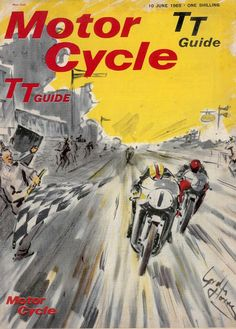 Official Isle of Man TT Guide, June 1965.  My Dad was there.