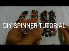 $1 DIY HAND SPINNER FIDGET TOY (NOT 3D Printed!)