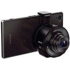 Sony DSC-QX10 Attachable 18MP 4.45-44.5mm Lens Camera for iPhone / Android for $197
