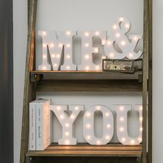 Say it with lights! Let the world know it's just me & you with these lovely #letterlights. Perfect for #homedecor #interiordecor #interiordesign  #interior