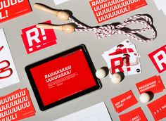 Raul advertising agency - Corporate visual identity by Dynamo design, photo of printed realization by w:u studio Design Package, Visual Identity, Brand Identity, Architecture Tattoo, Graphic Design Branding, Paper Design, Art Quotes, Advertising Agency, Prints