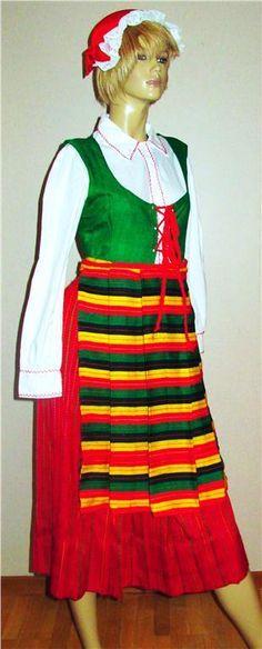 Terjärv folkdräkt. Folk Costume, Costumes, Traditional Outfits, Handicraft, Finland, Folk Art, Roots, Clothes, Dresses