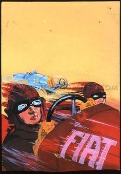 A historical Fiat advertisement
