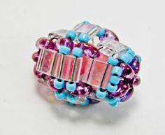 twin tila beaded bead