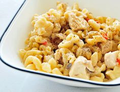 Make-Ahead Freezer Meal Recipes for Moms-to-be - Chicken Mac and Cheese YUM!!