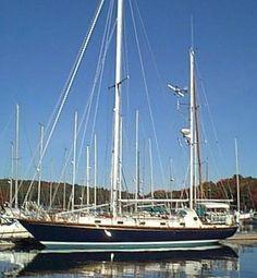 CAPE DORY 45   Hull Type:Long KeelRig Type:Staysail Ketch LOA:45.25' / 13.79mLWL:33.50' / 10.21m Beam:13.00' / 3.96mListed SA:935 ft2 / 86.86 m2 Draft (max.)6.25' / 1.91mDraft (min.) Disp.24000 lbs./ 10886 kgs.Ballast:9400 lbs. / 4264 kgs. SA/Disp.:18.05Bal./Disp.:39.17%Disp./Len.:284.99 Designer:Carl Alberg Builder:Cape Dory Yachts (USA) Construct.:FGBal. type: First Built:1982Last Built:1985# Built:3