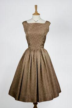 1950s Vintage Dress by e0m0m0a on Etsy, £45.00