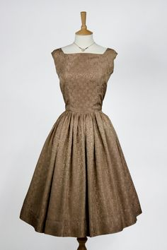 1950s Vintage Dress by e0m0m0a on Etsy, £45.00