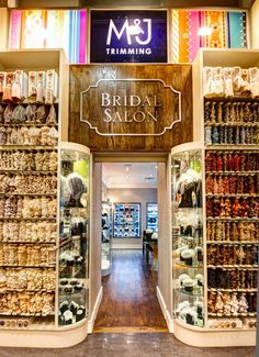 @M Bridal located inside of #mjtrimming 1008 Sixth Avenue New York, NY 10018