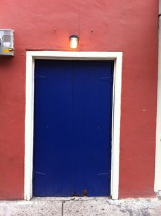 Blue Door in New Orleans by chez loulou, via Flickr