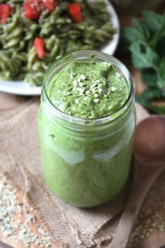 Hemp Seed Basil Pesto Recipe
