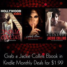 Hollywood Kids, Hollywood Husbands and Lady Boss are currently Amazon Kindle deals for June 2017 at 1.99 Jackie Collins, Amazon Kindle, Boss Lady, My Books, June, Husband, Hollywood, Movies, Movie Posters