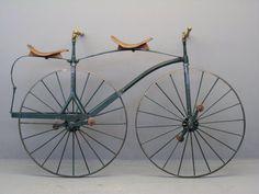 1800s Velocipede tandem