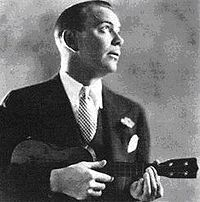 """Cliff Edwards aka """"Ukulele Ike"""": Cliff Edwards (14 June 1895 - 17 July 1971), also known as """"Ukelele Ike"""", was an American singer and musician who enjoyed considerable popularity in the 1920s and early 1930s, specializing in jazzy renditions of pop standards and novelty tunes. He also did voices for animated cartoons later in his career, and is fondly remembered as the voice of Jiminy Cricket in Walt Disney's Pinocchio (1940)..."""