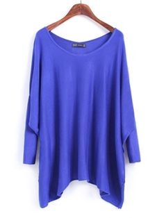 Simple Round Neck Color Knitwear 8colors