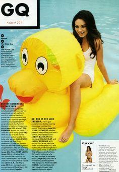 Mila Kunis Duck!