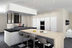 Après les bars et les îlots, les verrières d'intérieur débarquent petit à petit dans nos cuisines. Les avantages sont multiples (luminosité, sensation d'espace...). Vous hésitez encore à installer une verrière ? Voici la liste des nombreux avantages !