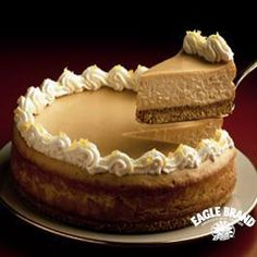 Butterscotch Cheesecake from Eagle Brand®