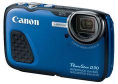 Head 82 feet below the surface with Canon's waterproof PowerShot D30