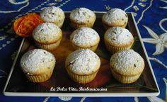 #Muffins ripieni di #crema sofficissimi!