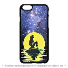 Ariel The Little Mermaid Galaxy Nebula iPhone 4 4s 5 5s 5c 6 6 plus Samsung Case #UnbrandedGeneric