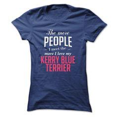 i love my KERRY BLUE TERRIER T-Shirts, Hoodies. GET IT ==► https://www.sunfrog.com/Pets/i-love-my-KERRY-BLUE-TERRIER-Ladies.html?id=41382