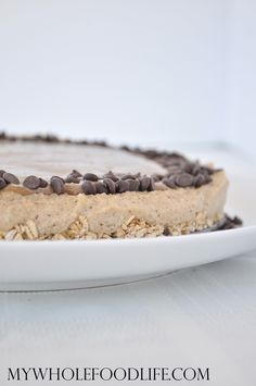 Salted Caramel Vegan Cheesecake.  OMG this is a must try.  Rich and decadent.  No baking required!  Vegan and gluten free.