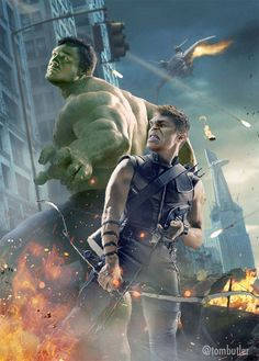 Look at This Hulk/Hawkeye Face Swap Because You've Been Working Hard and You Deserve It