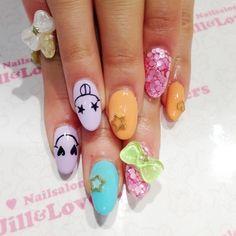 ロング×ゼブラキティーネイル☆の画像    Jill shibuyaのブログ
