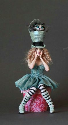 Love this mad hatter! :)