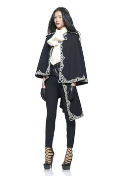 Cloak for a woman of Gondor - Alexander McQueen